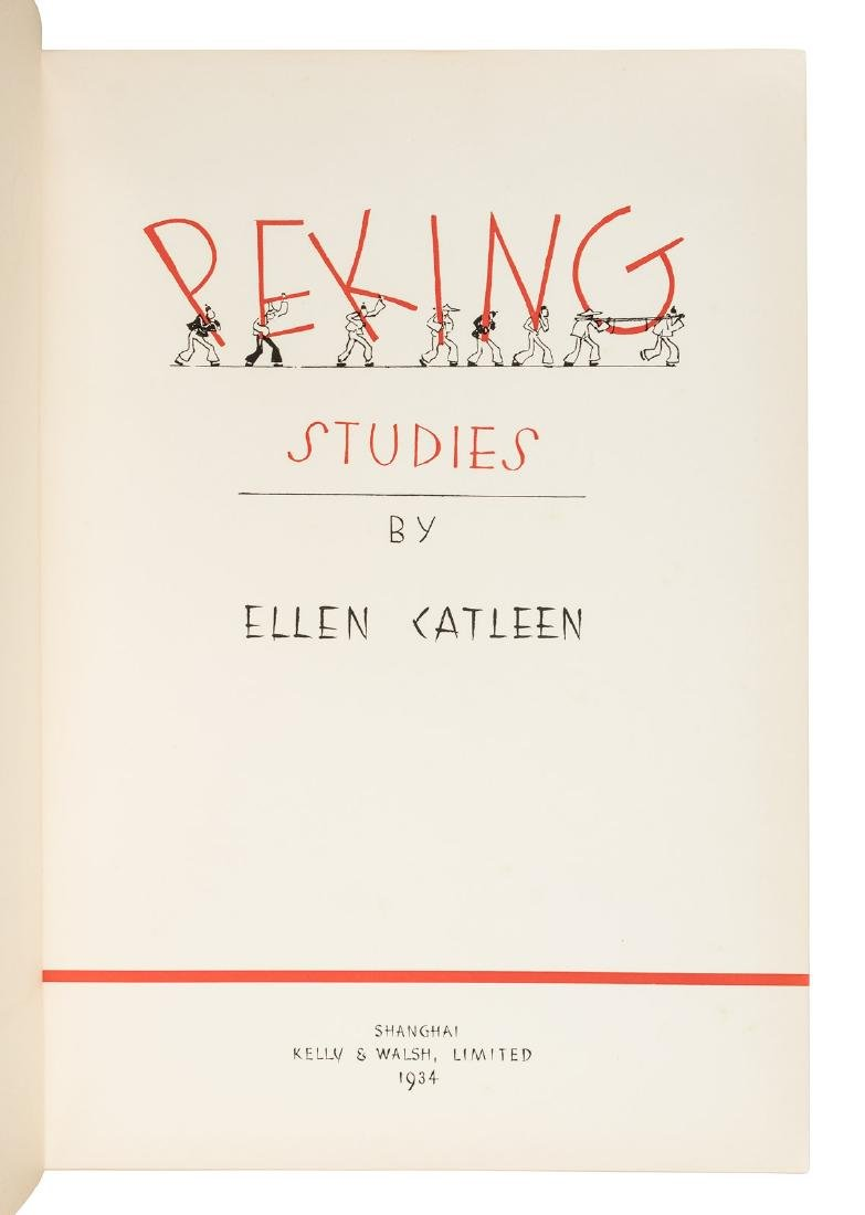 Peking Studies with Photos by Catleen and Drawings by - 2