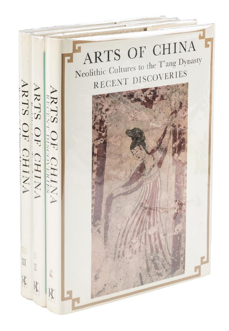 Arts of China in 3 volumes