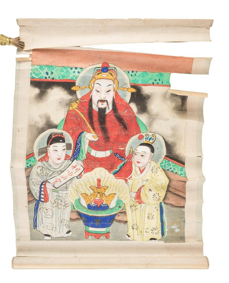 Four scrolls relating to China