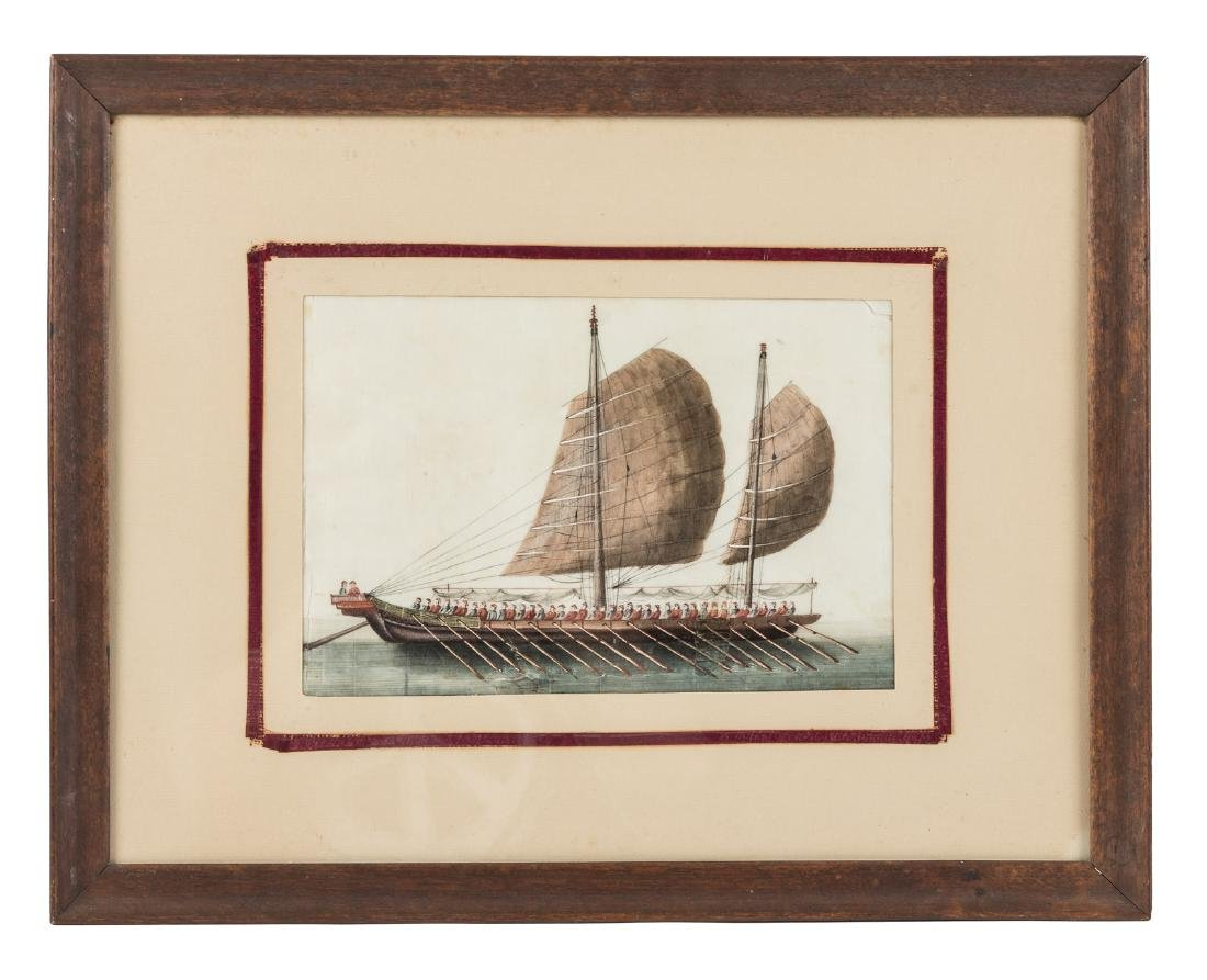 Original Chinese watercolor