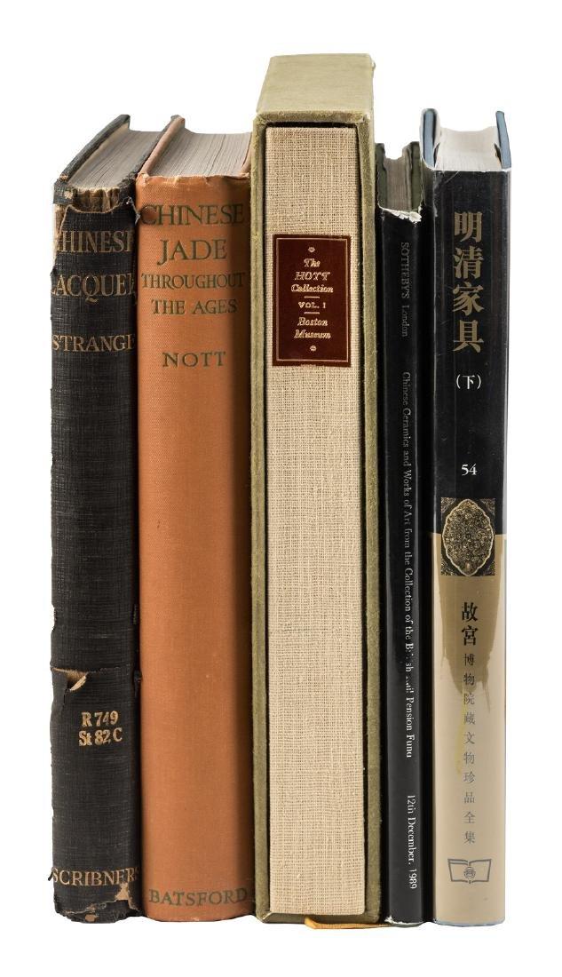 Five Chinese Art Books