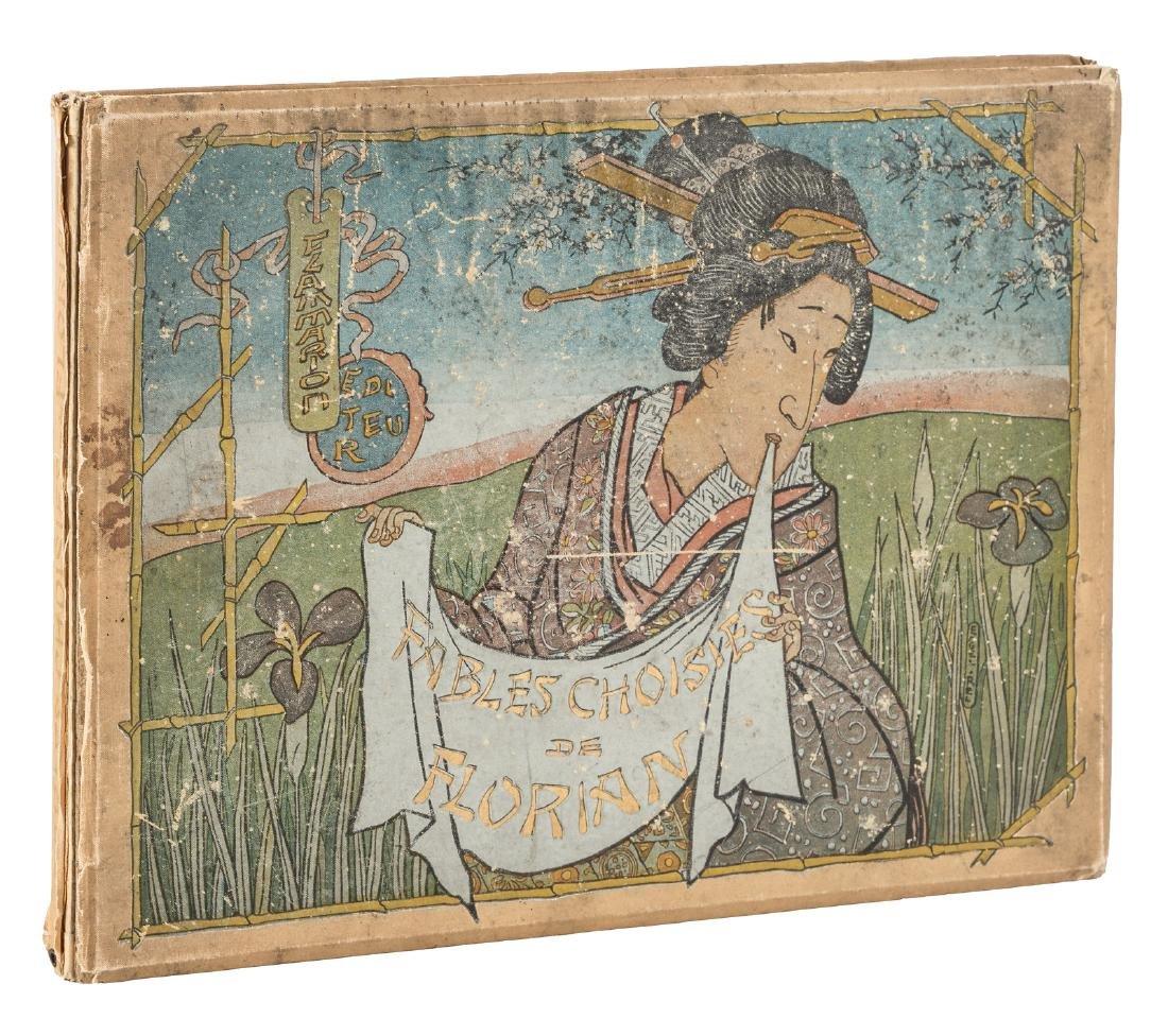Florian's Fables Choisies w/24 color woodblock prints