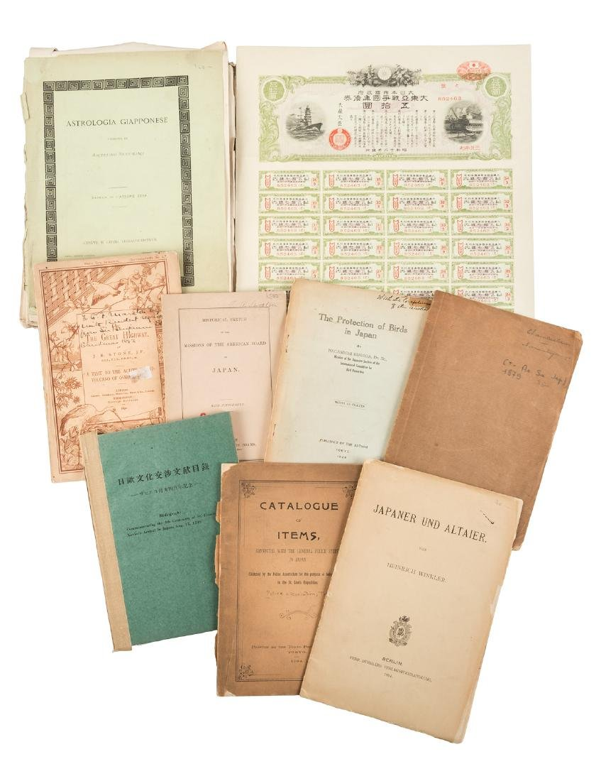 Collection of Japanese related pamphlets