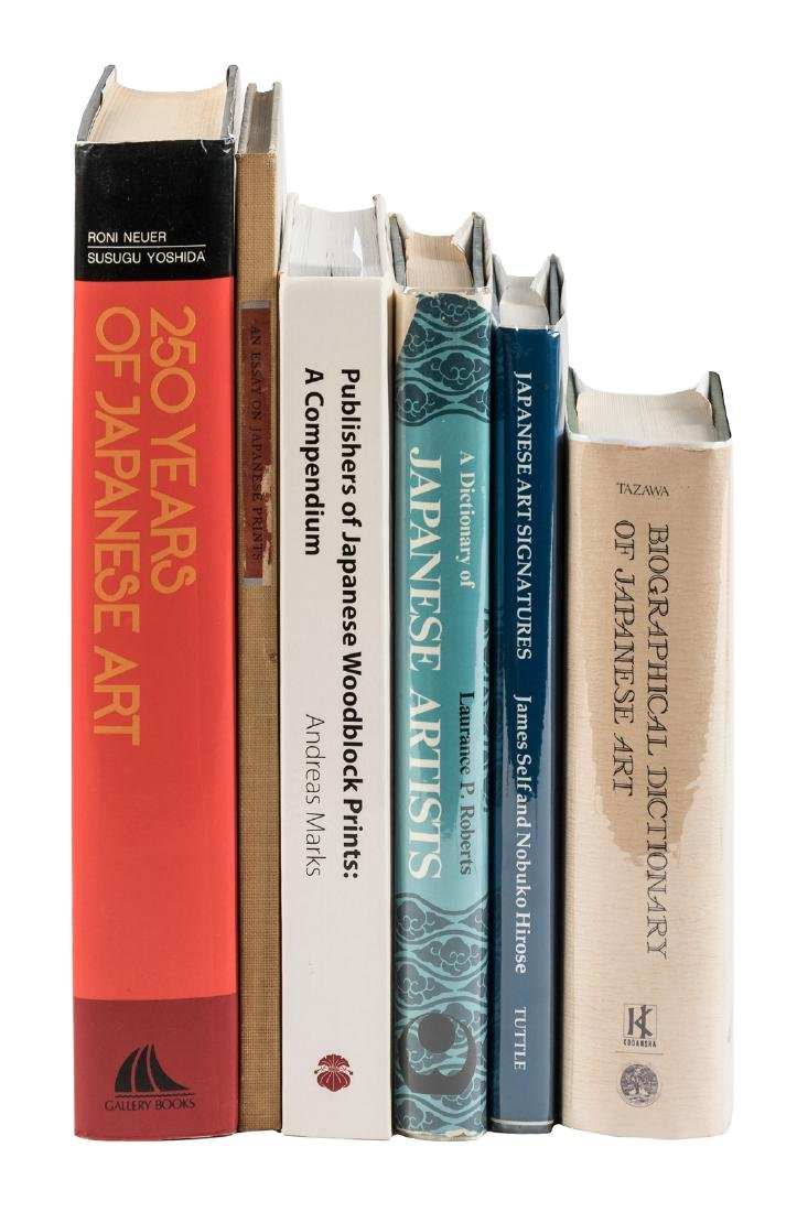 Six Japanese Art Reference Books