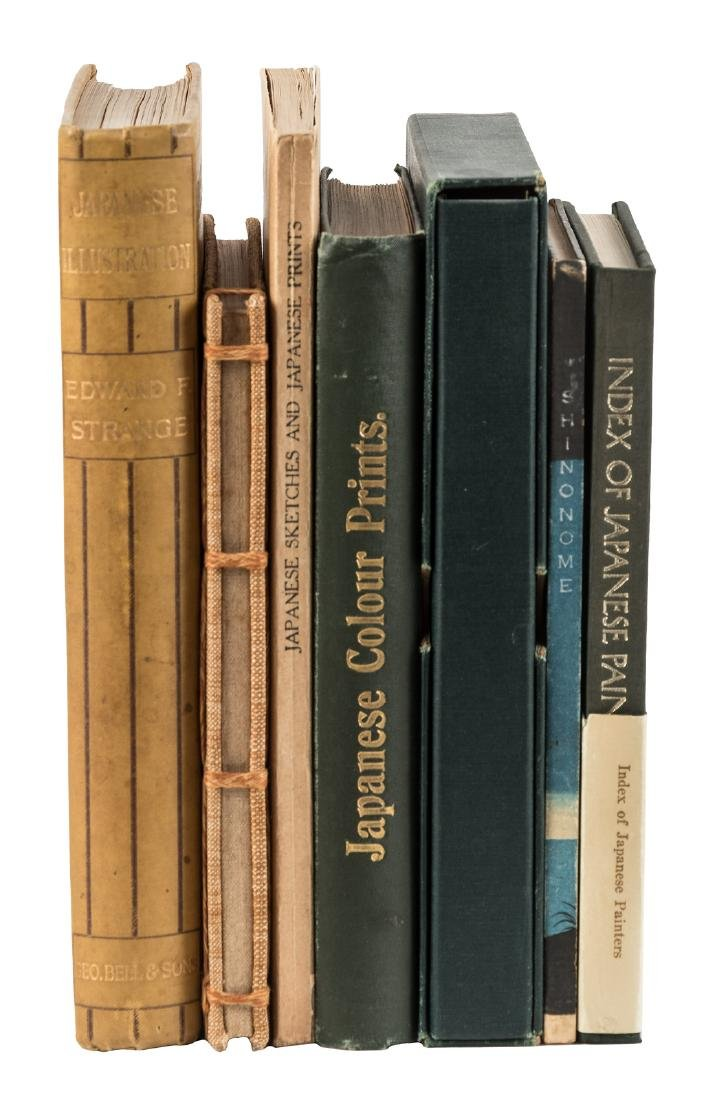 Seven Volumes on Japanese Art