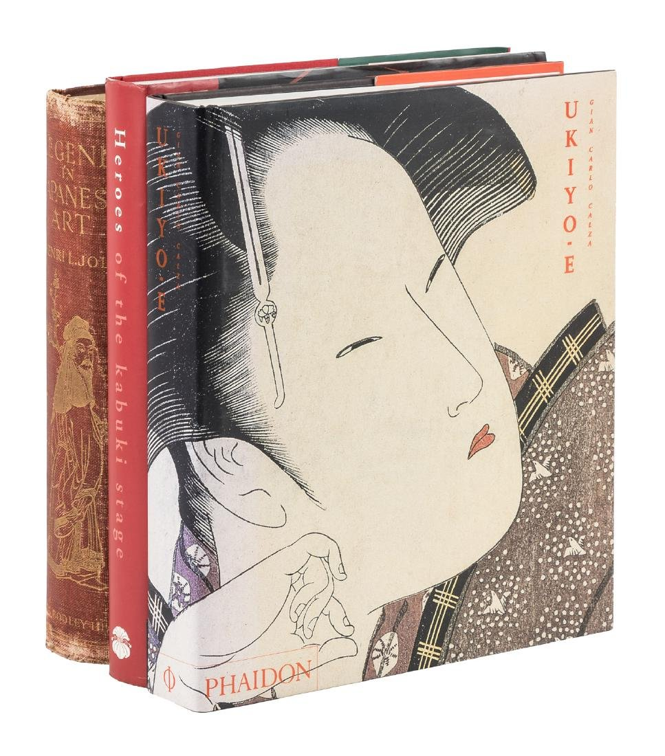 Three Japanese Art Tomes