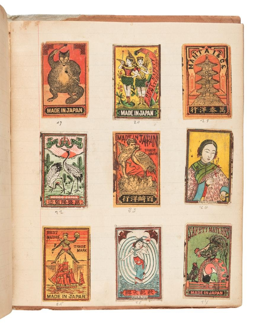 176 Japanese matchbook labels - 3