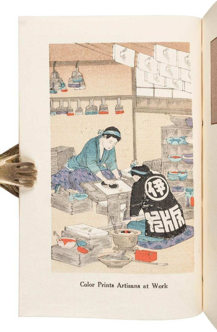 Thirteen copies of How to Make Japanese Color Prints