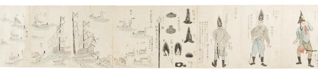 Japanese scrolls of Russians & their culture c.880 - 5