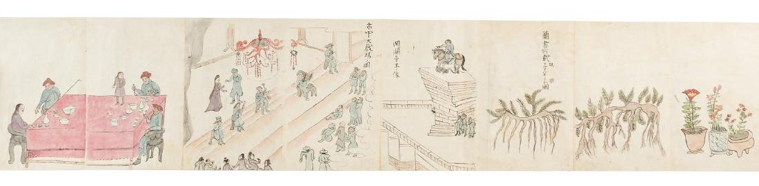 Japanese scrolls of Russians & their culture c.880 - 8