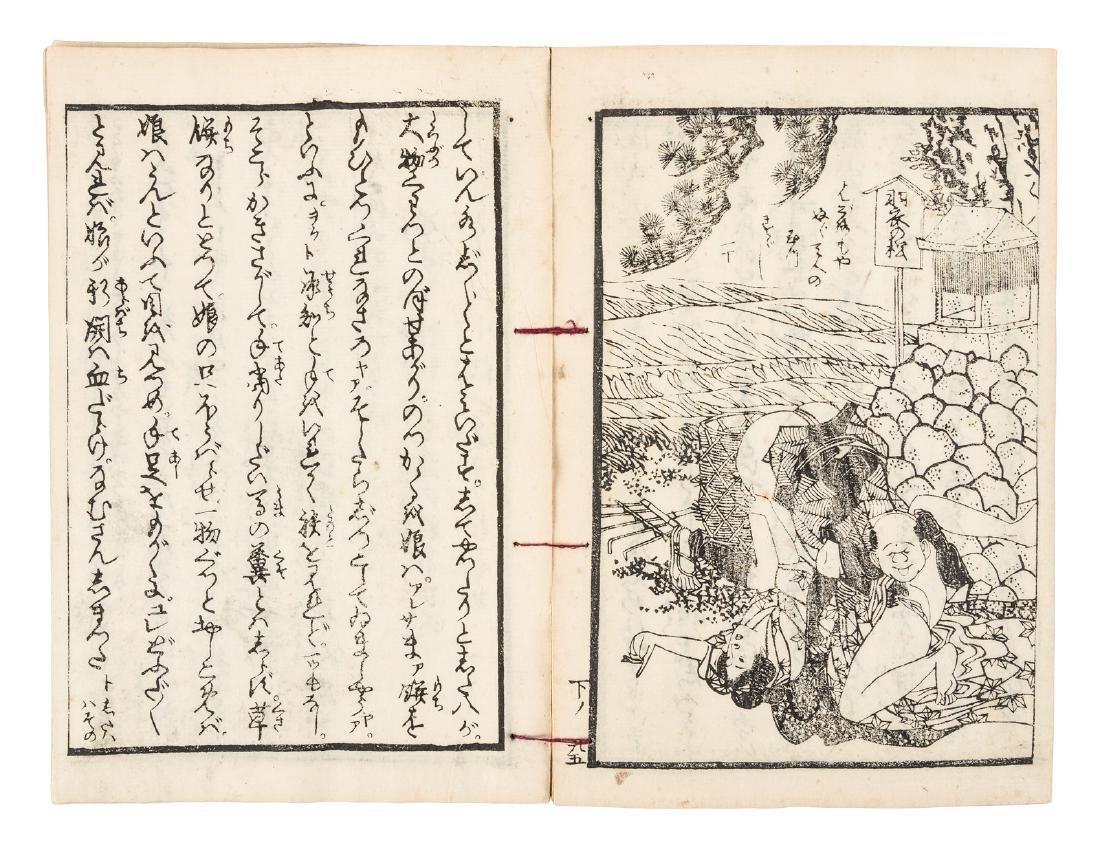 Shank's Mare, Japanese picaresque novel, 1800's - 7