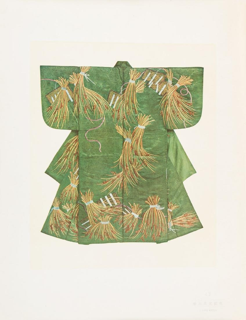 Color plates of 100 kimonos