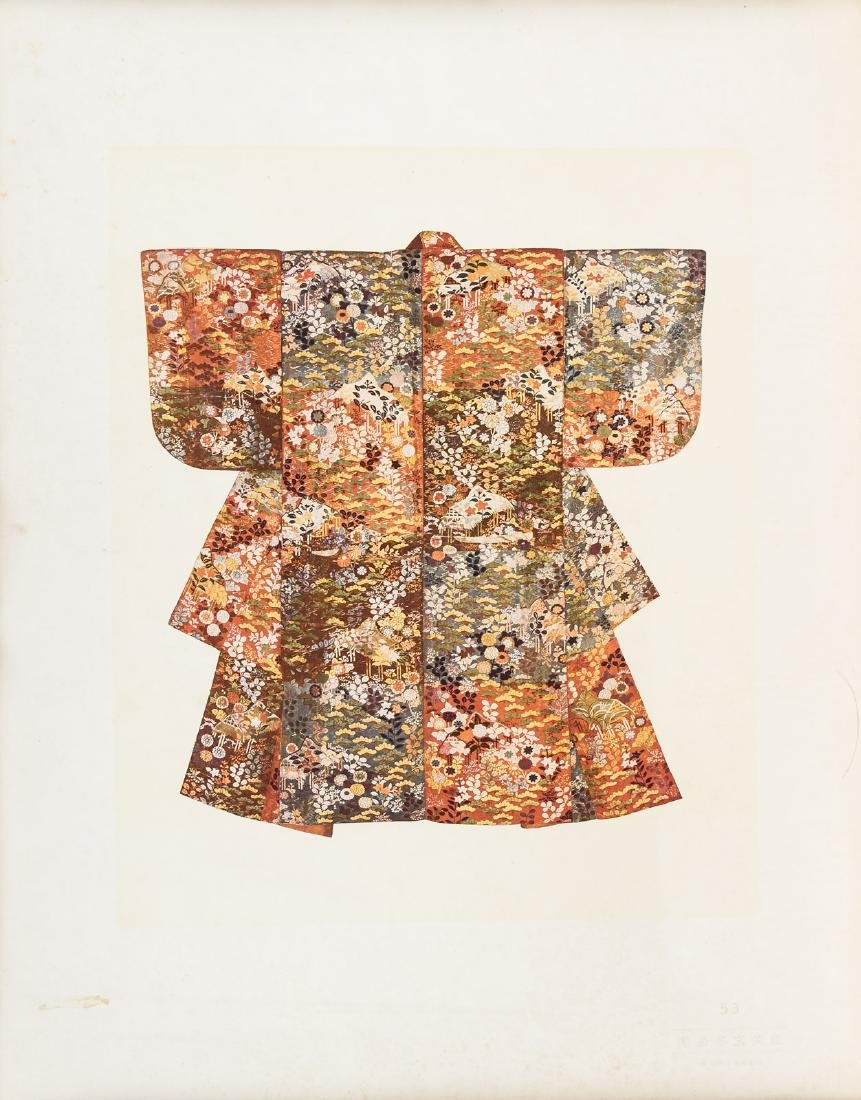 Color plates of 100 kimonos - 2