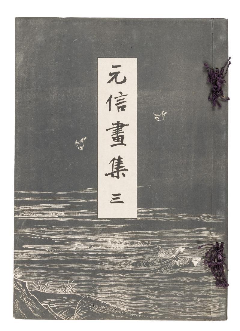 Paintings by Motonobu, 1903-7, 3 volumes