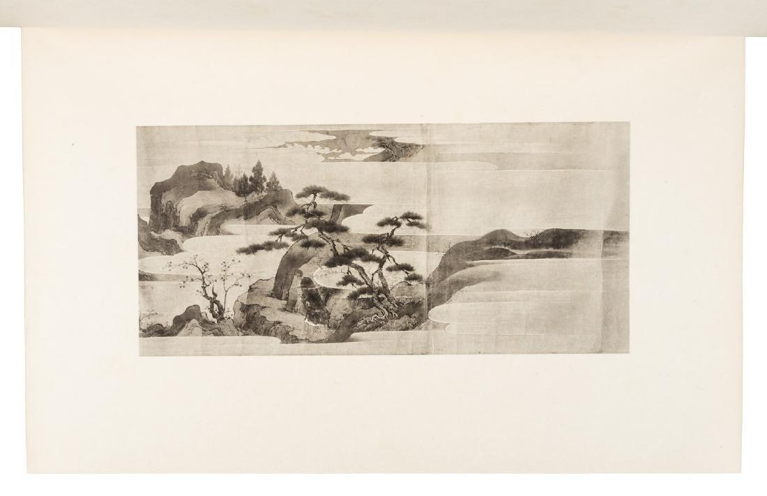 Paintings by Motonobu, 1903-7, 3 volumes - 3