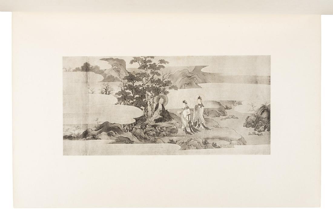 Paintings by Motonobu, 1903-7, 3 volumes - 4