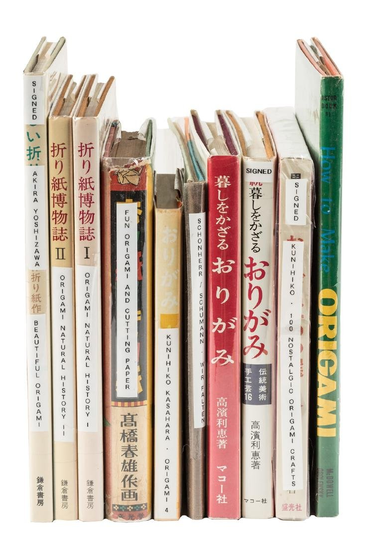 Collection of books on Origami & Paper-folding