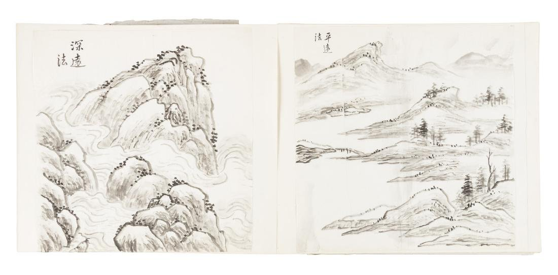 Sketchbook of Chinese brush painting techniques