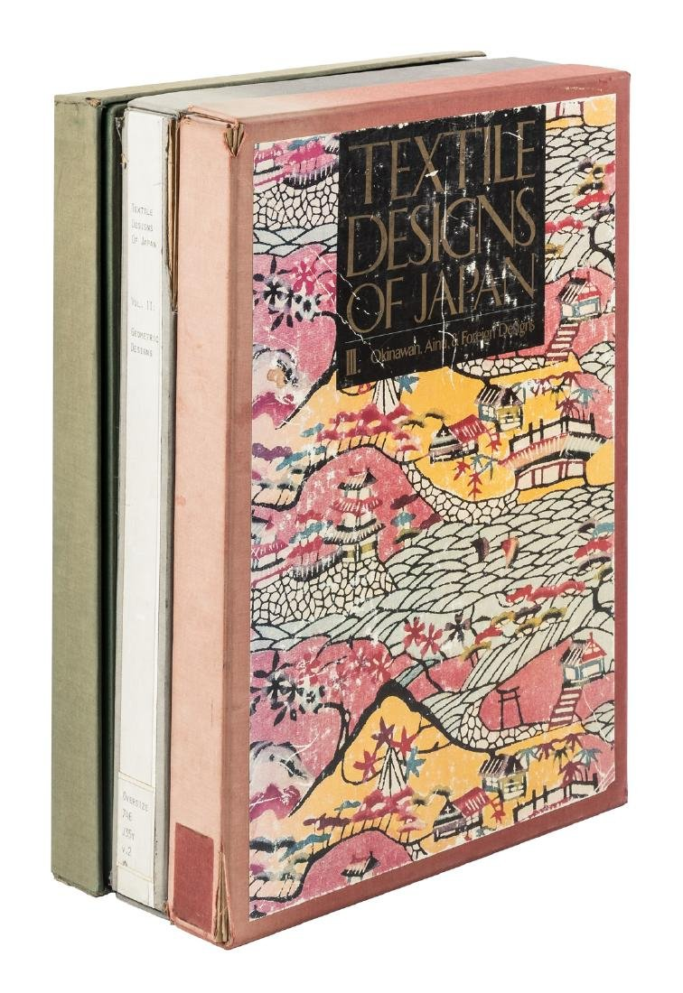 Textile Designs of Japan, 3 vols.