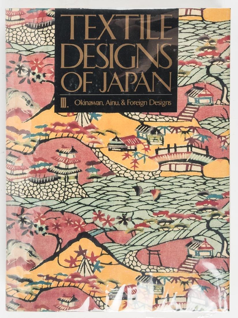 Textile Designs of Japan, 3 vols. - 2