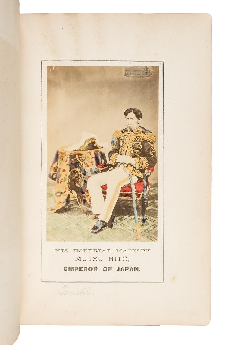 Labor and Porcelain in Japan w/hand-colored albumen