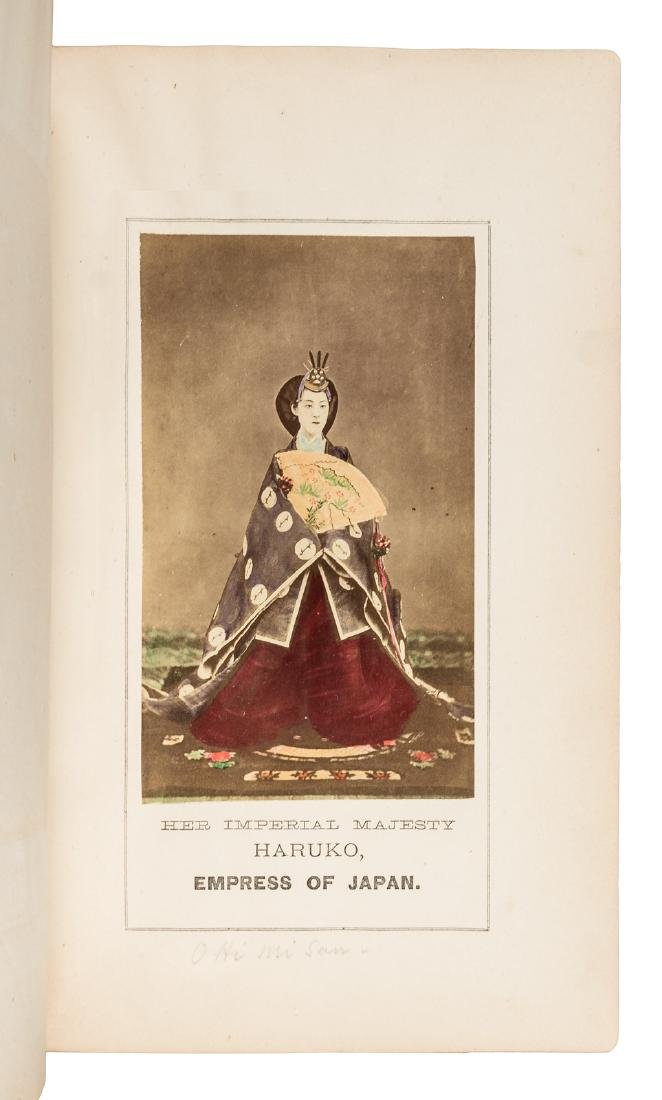 Labor and Porcelain in Japan w/hand-colored albumen - 2