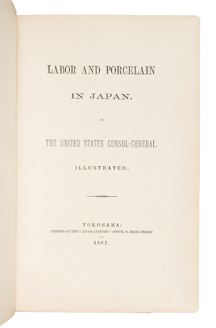 Labor and Porcelain in Japan w/hand-colored albumen - 3