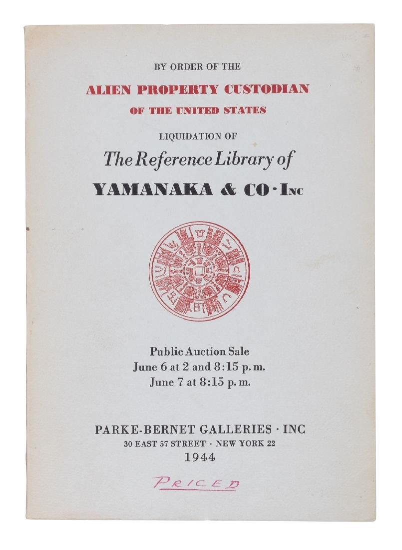 Yamanaka & Co. Reference Library Auction Catalogue