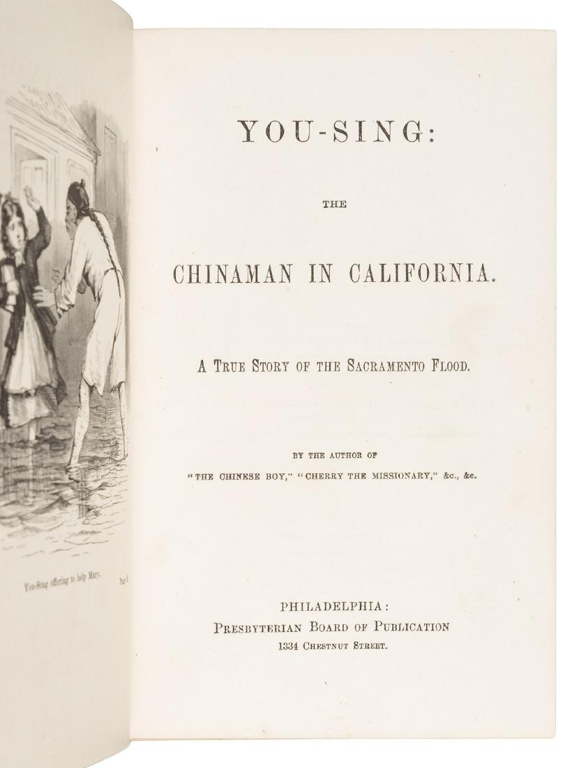 1st novels about Chinese-Americans in California - 2