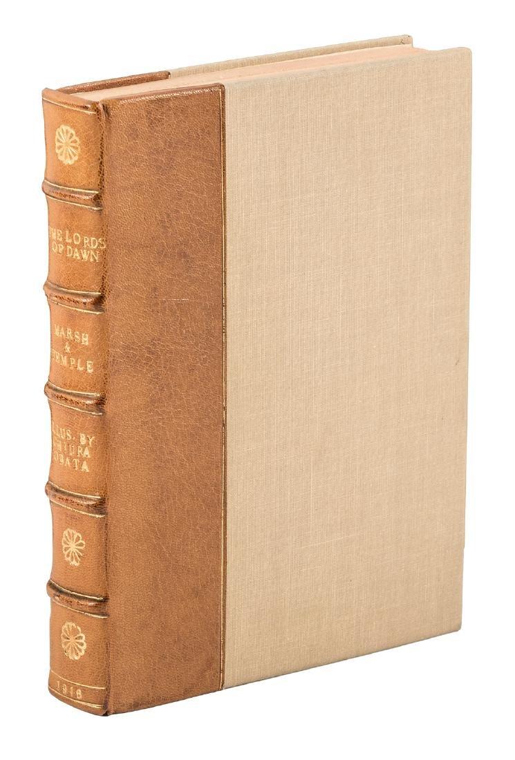 Chiura Obata, famed Japanese-American artist, 1st book