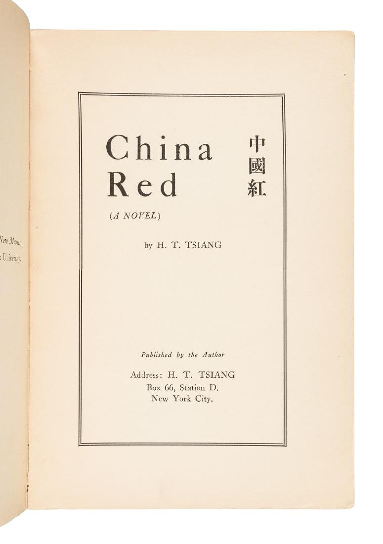 1st (radical) novel by an American-born Chinese - 2
