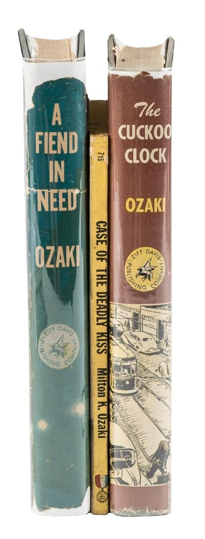 1st Japanese-American detective story writer