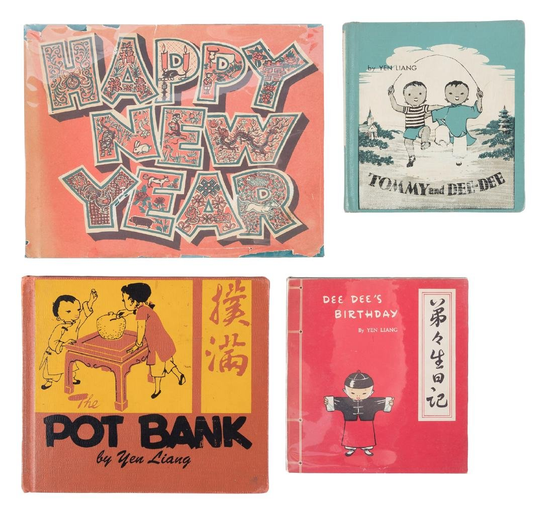Four early children's books by Chinese-American