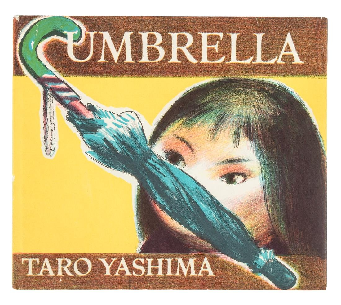 Original art in children's book by former Japanese