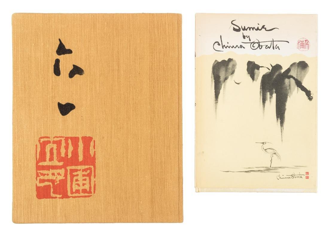 Japanese-American artist Chiura Obata, two books from