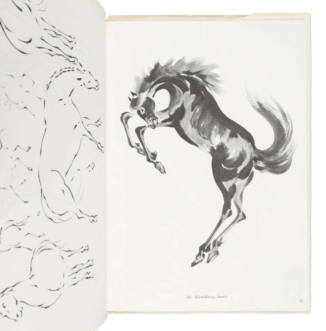 Japanese-American artist Chiura Obata, two books from - 2