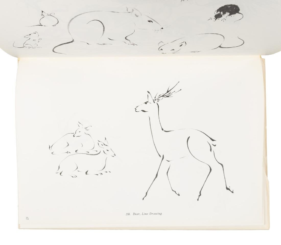 Japanese-American artist Chiura Obata, two books from - 3