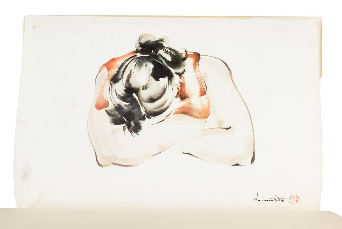 Japanese-American artist Chiura Obata, two books from - 5