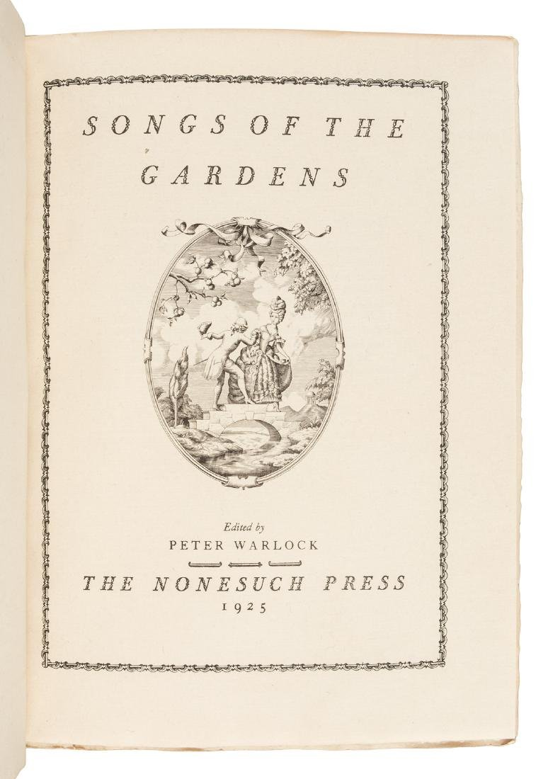 Songs of the Gardens Nonesuch Press