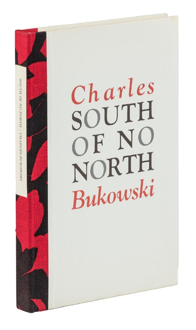 Bukowski's South of No North, one of 300 signed copies