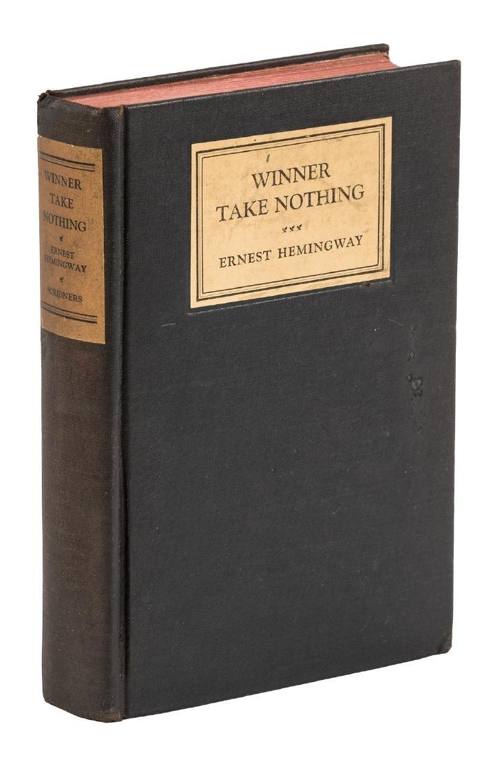 Ernest Hemingway Winner Take Nothing