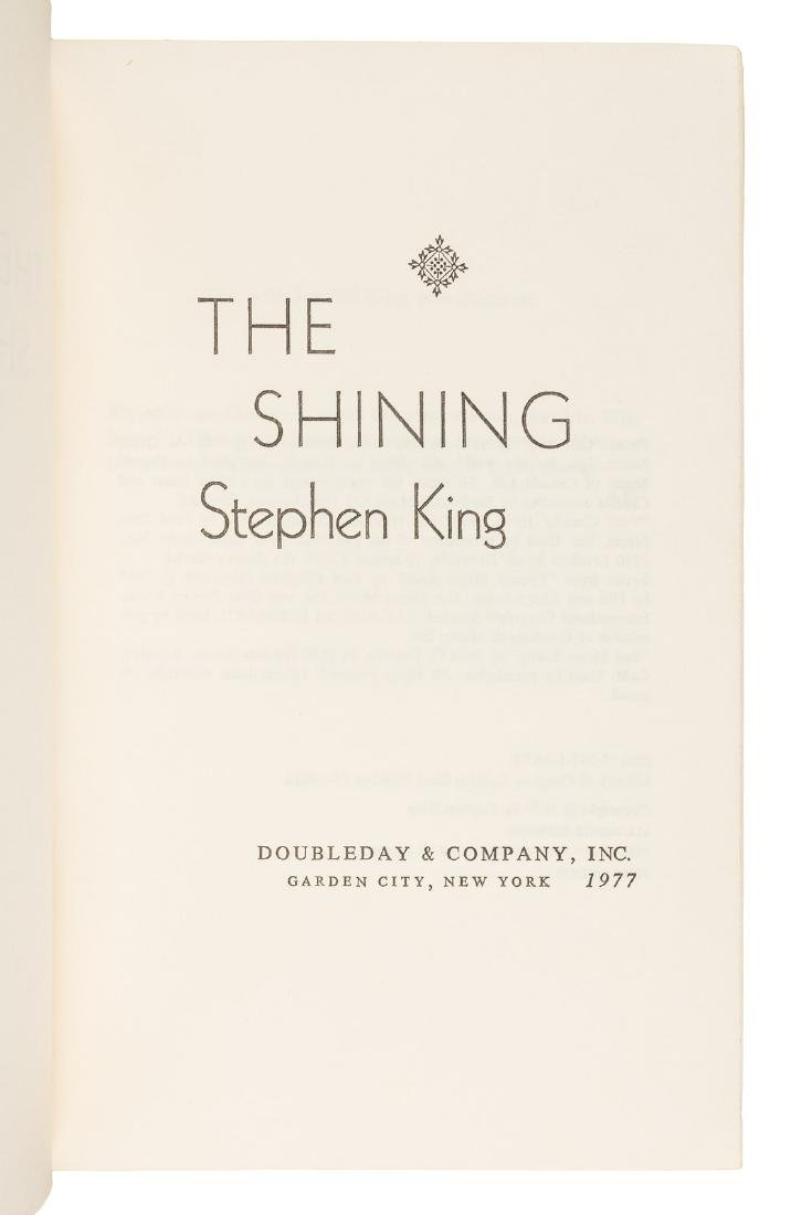 Stephen King The Shining First Edition - 2