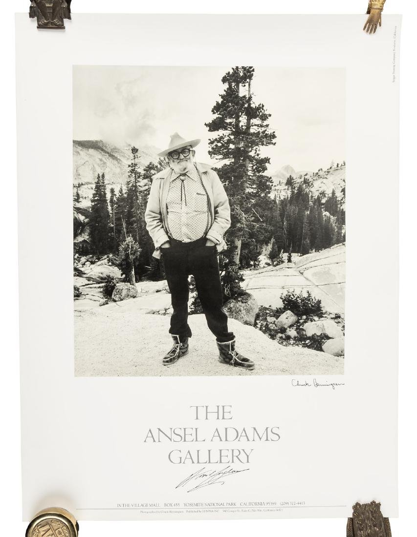 Two posters signed by Ansel Adams