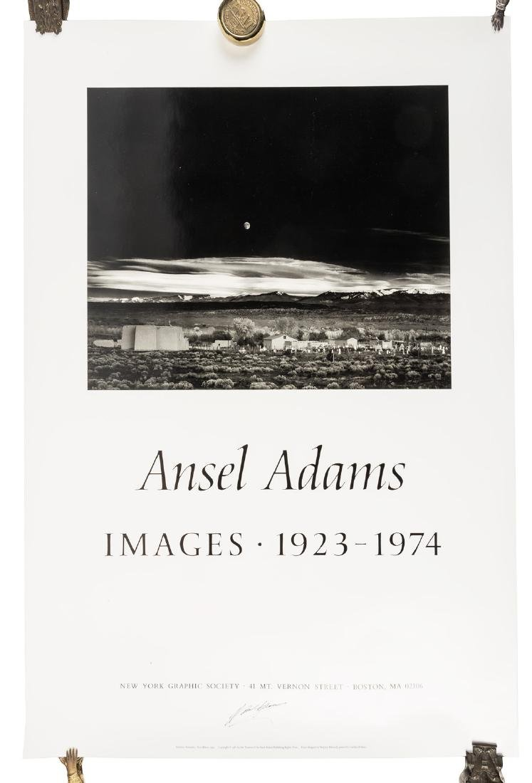 Two posters signed by Ansel Adams - 3