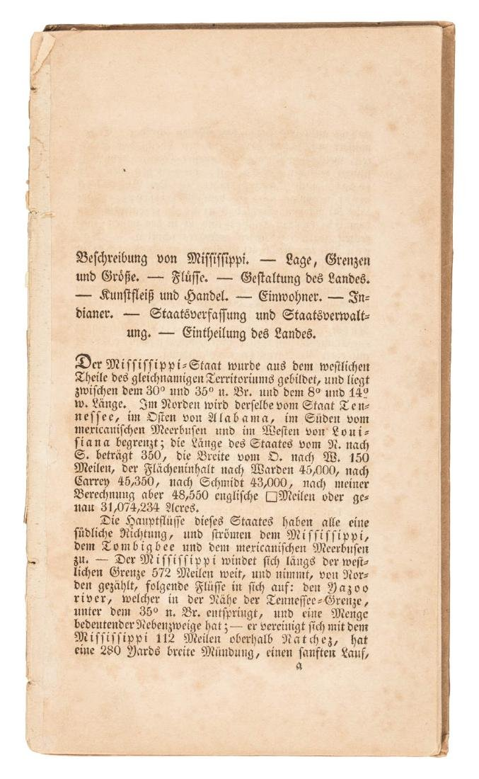 An Early Guide for German Emigrants to the American