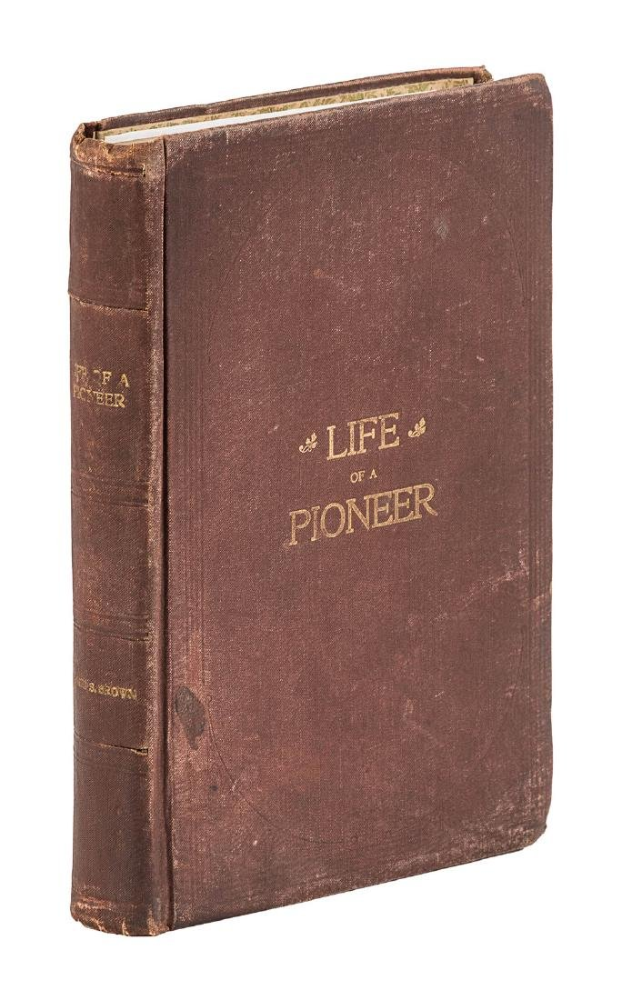 Scarce biography of Mormon Pioneer