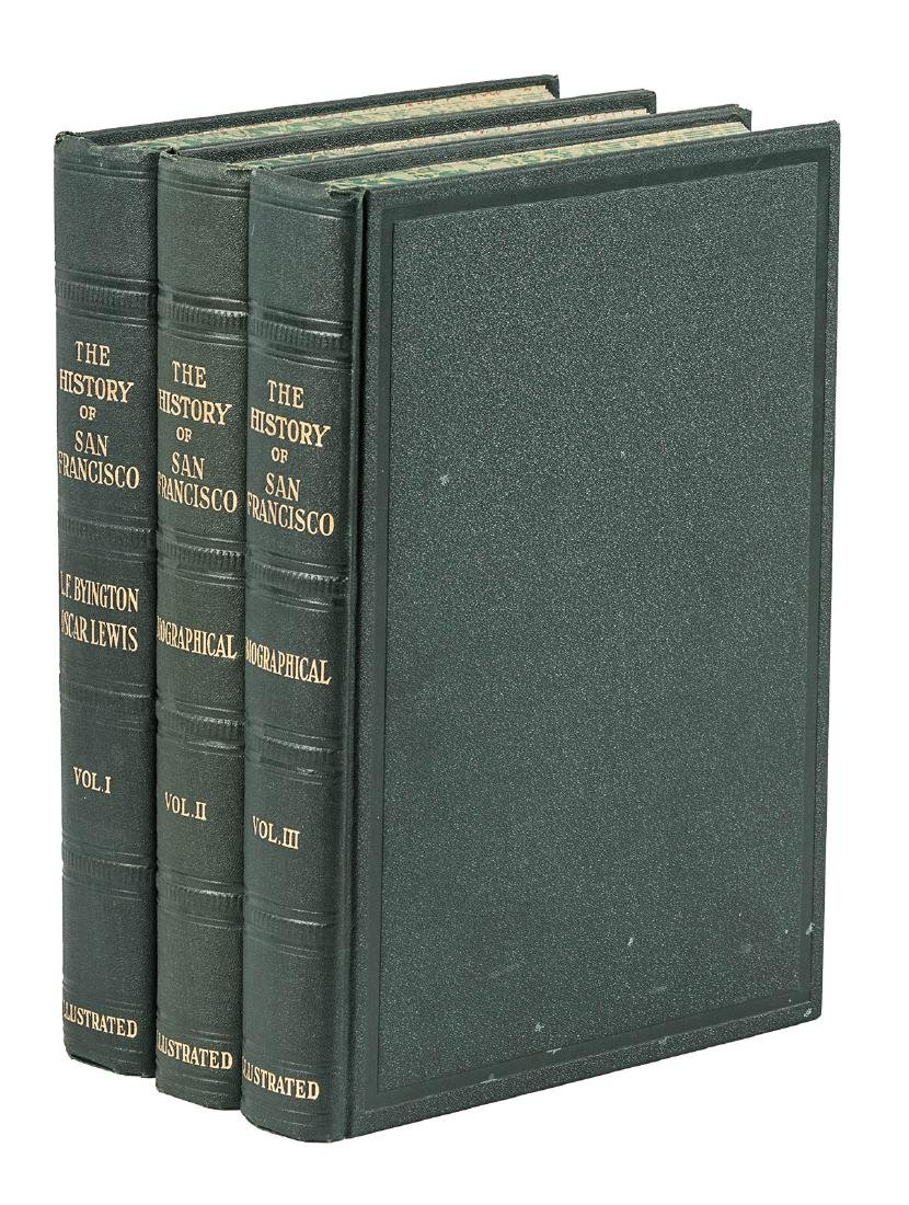 History of San Francisco in three volumes