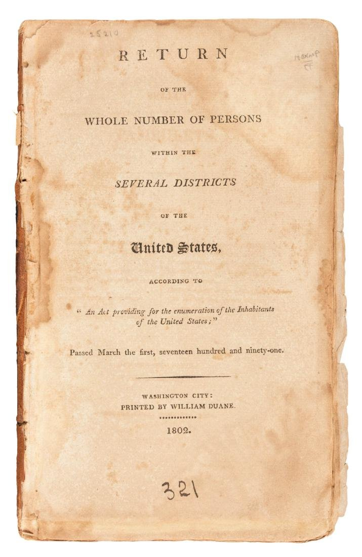 The First United States Census