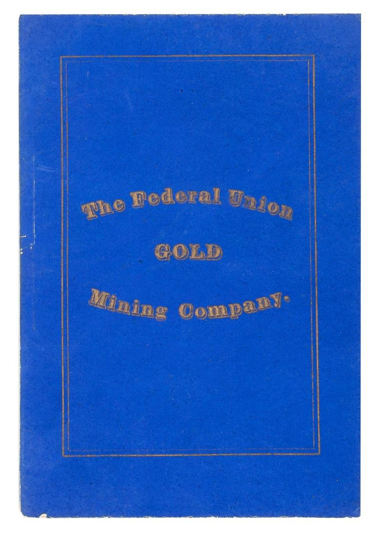 By-Laws of the Federal Union Mining Company