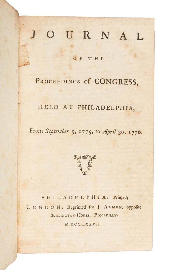 1st British edition of the Proceedings of the
